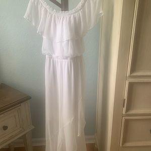 Beautiful White Sheer Dress